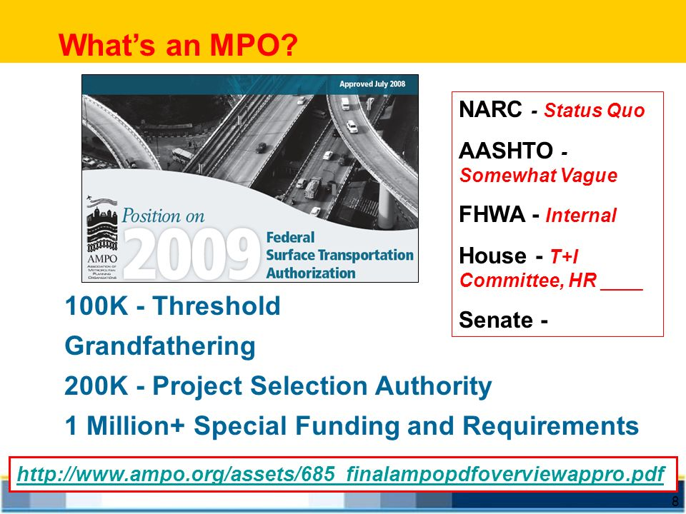 What's an MPO 100K - Threshold Grandfathering