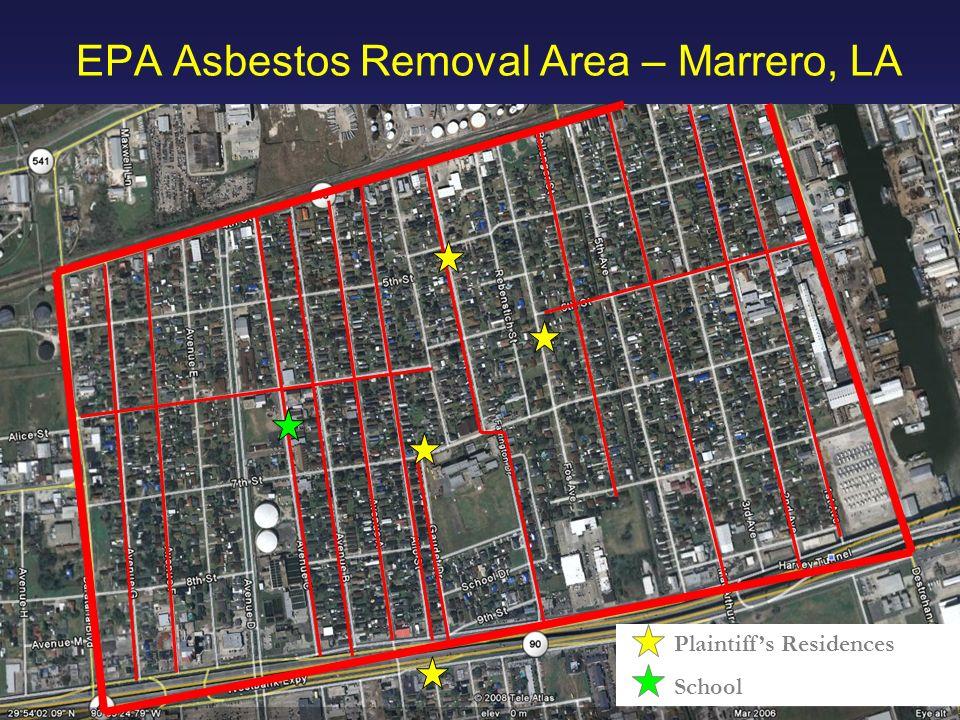 EPA Asbestos Removal Area – Marrero, LA