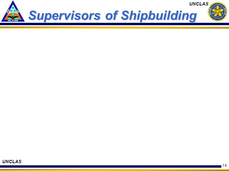 Supervisors of Shipbuilding