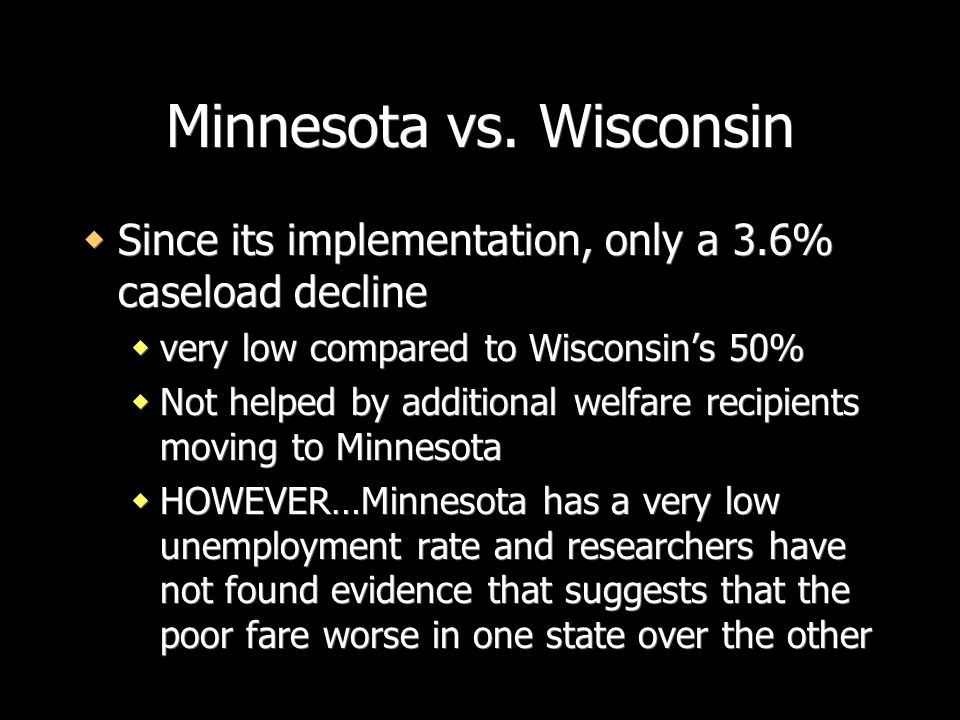 Minnesota vs. Wisconsin
