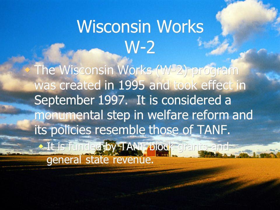 Wisconsin Works W-2