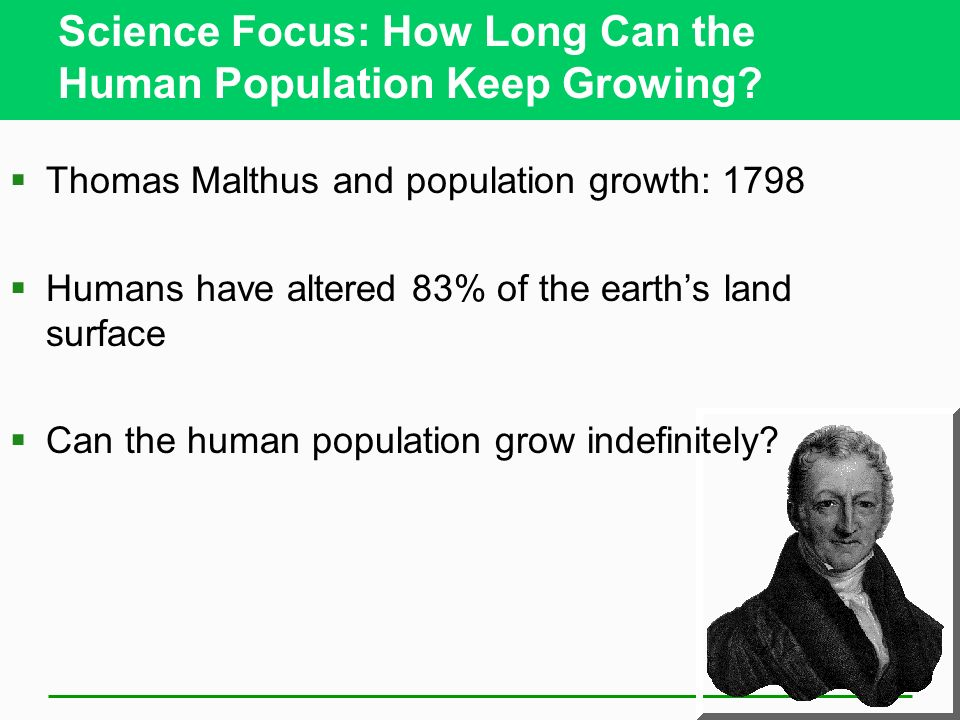 Science Focus: How Long Can the Human Population Keep Growing