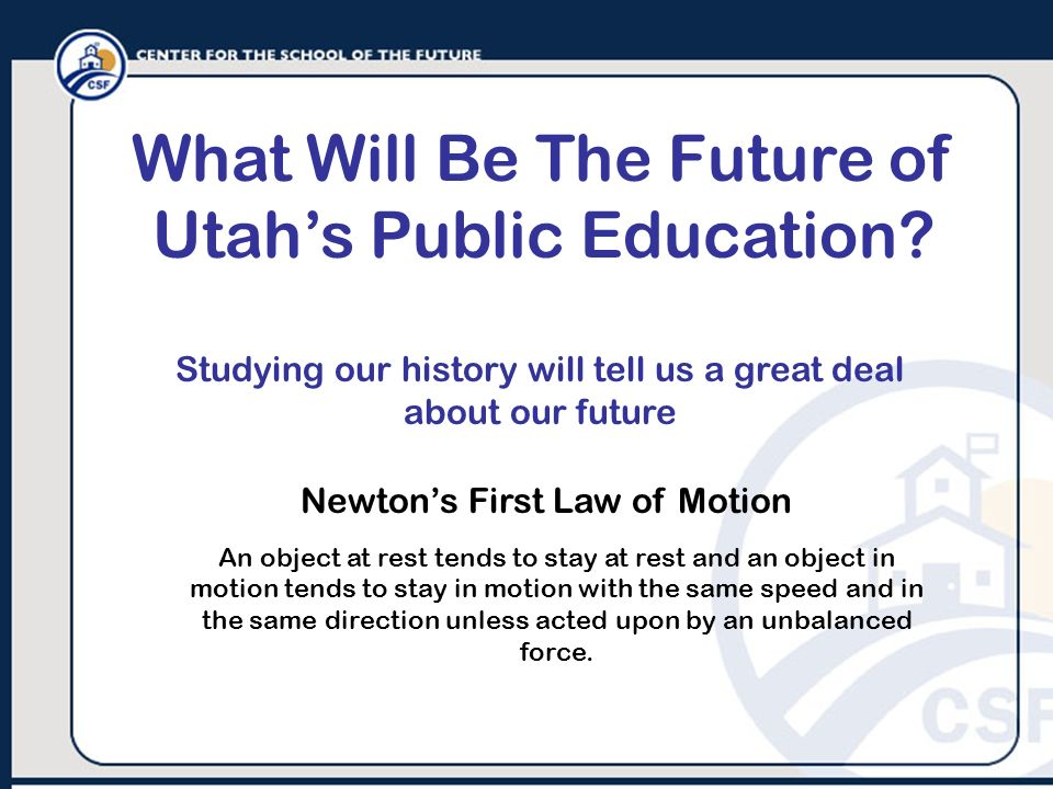 What Will Be The Future of Utah's Public Education