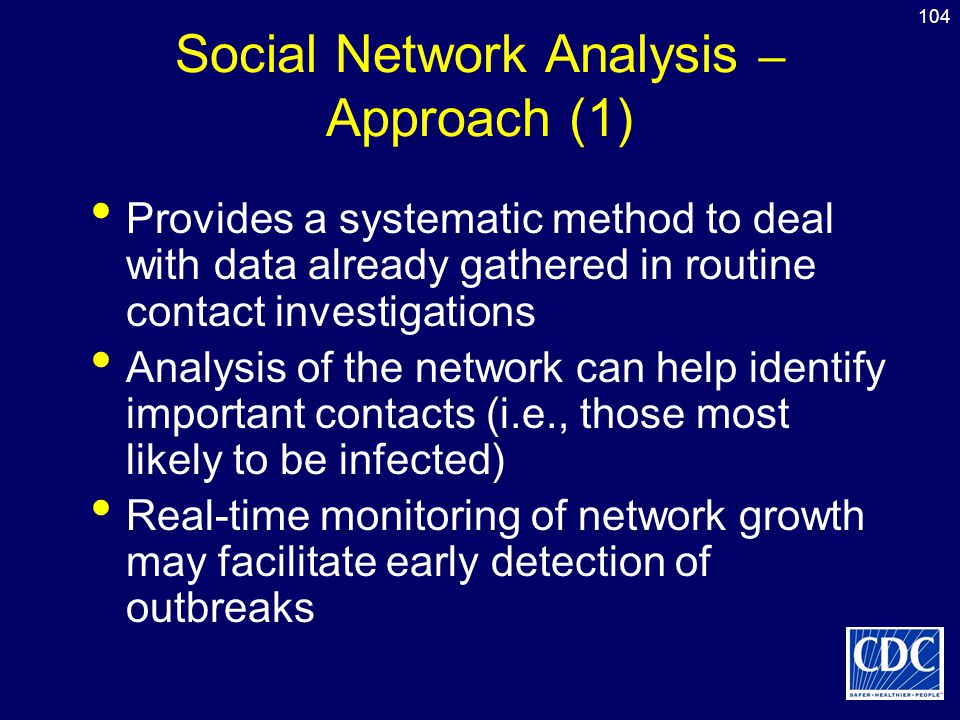 Social Network Analysis – Approach (1)