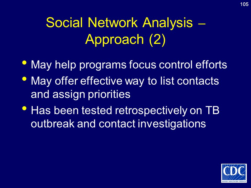 Social Network Analysis – Approach (2)