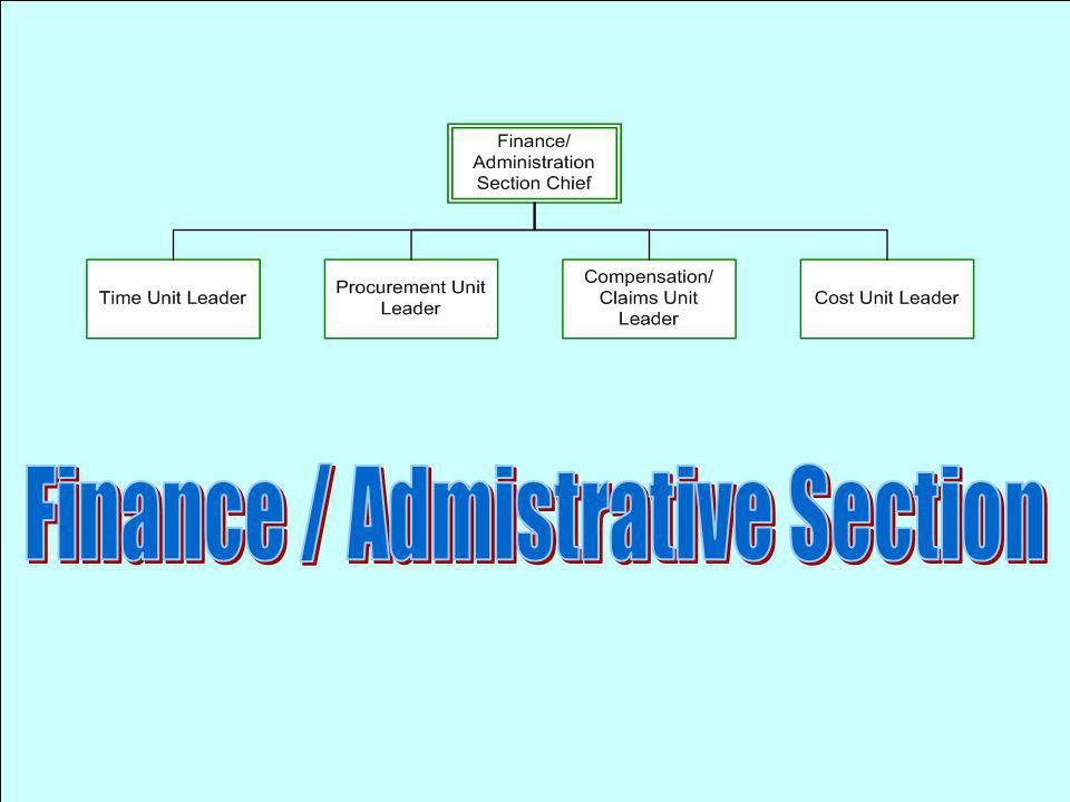 Finance / Admistrative Section