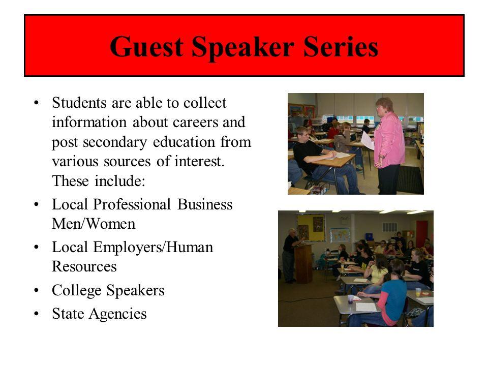 Guest Speaker Series