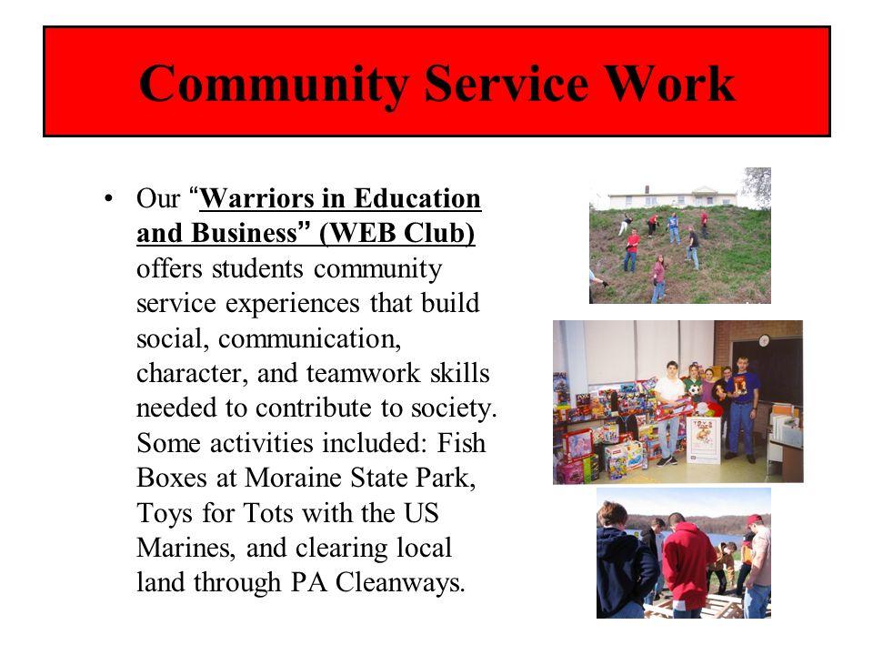 Community Service Work