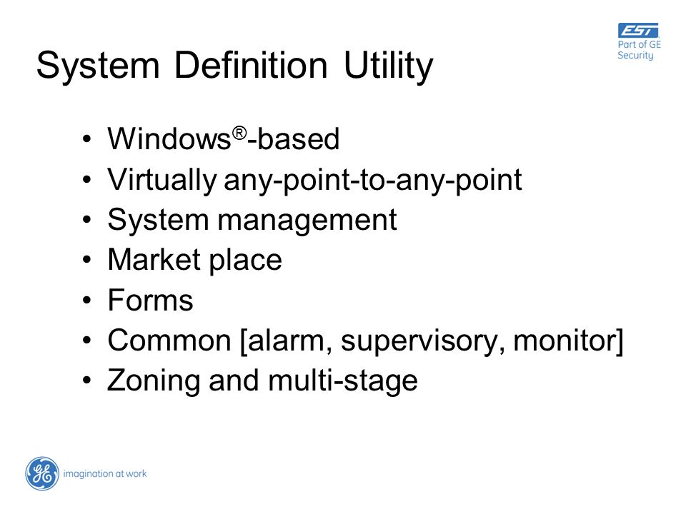 System Definition Utility