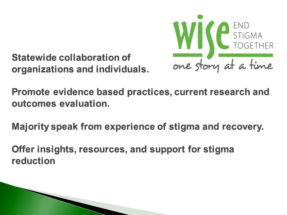 Statewide collaboration of organizations and individuals