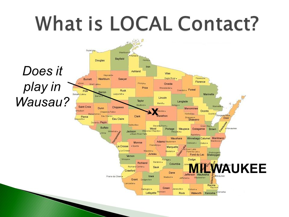 What is LOCAL Contact Does it play in Wausau x MILWAUKEE