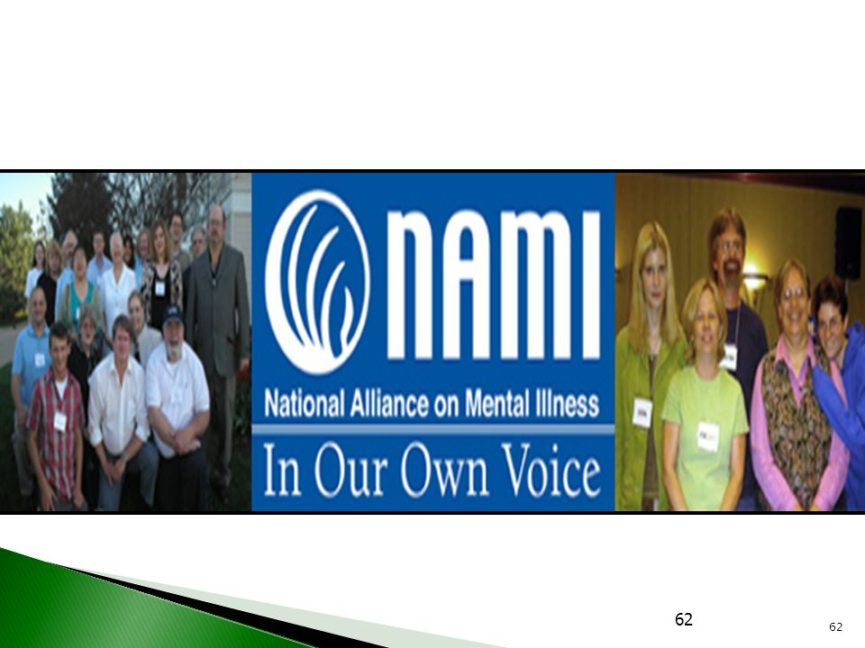 One of our state organizations- a chapter of the national organization- National Alliance on Mental Illness- has a program that supports the TLC4 plan by training people to tell their story in public groups. The NAMI IOOV program has specific defined parameters for their story tellers. HOP offers a more flexible approach for those who do not participate in IOOV. Both offer great resources to our communities.