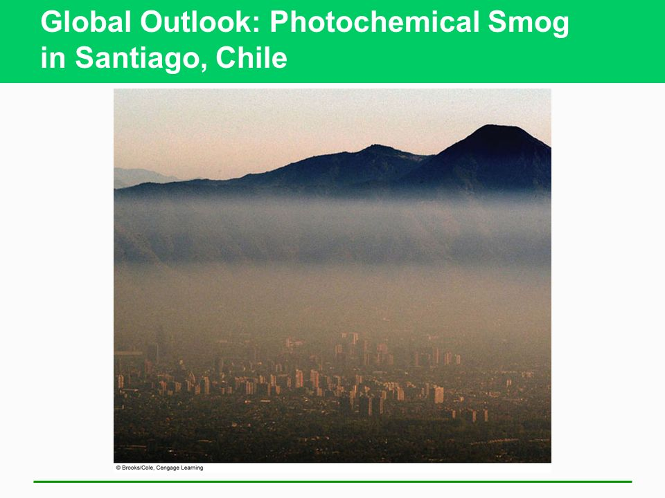 Global Outlook: Photochemical Smog in Santiago, Chile