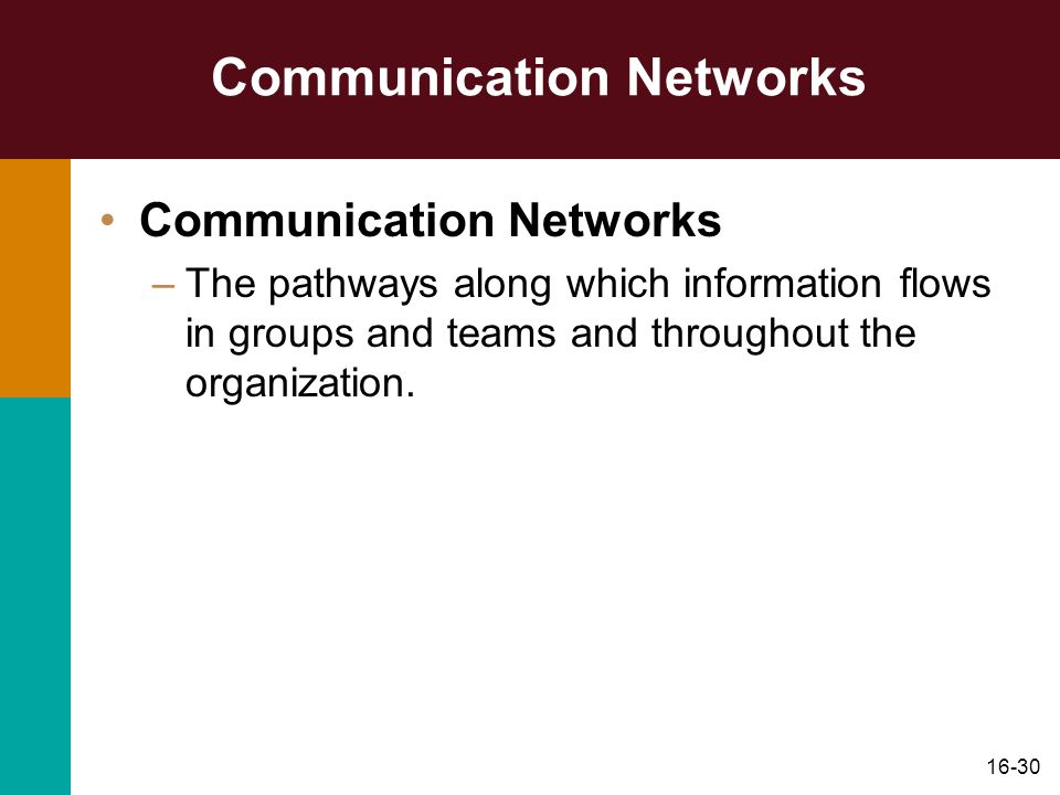 Communication Networks