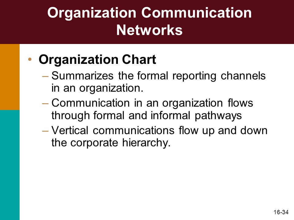 formal and informal communication channel within the organization Which of the following statements about formal and informal communication channels is most accurate a) all relevant organizational information should flow through formal communication channels b) ideally, the heaviest flow of information within an organization should be downward from decision makers to workers.