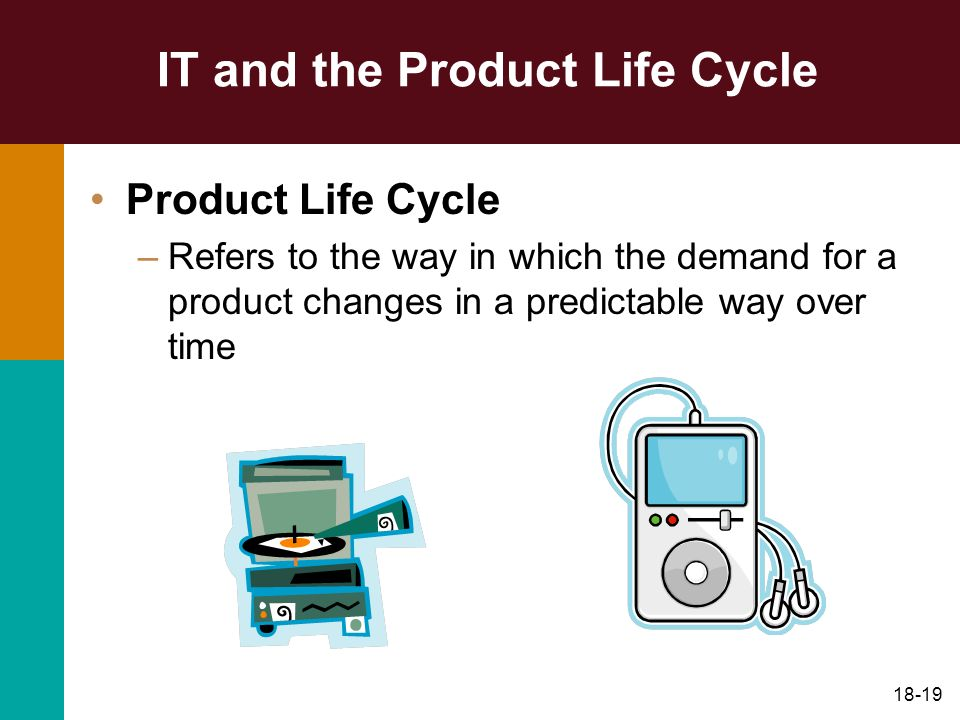 IT and the Product Life Cycle