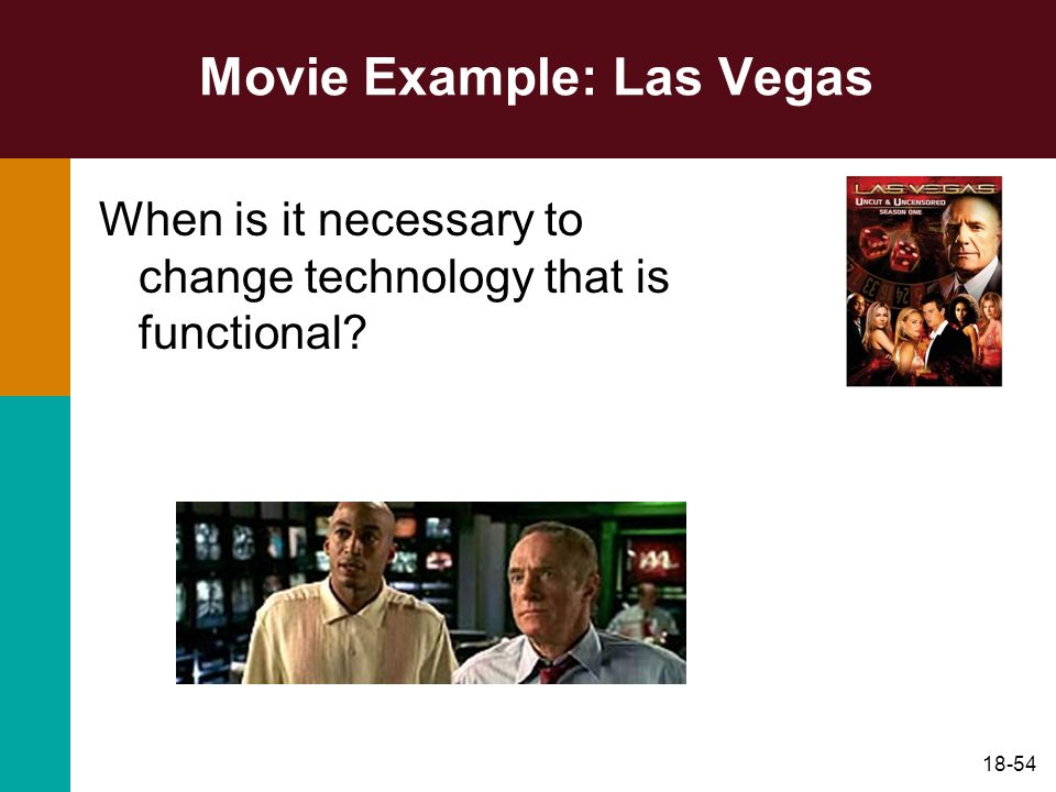 Movie Example: Las Vegas