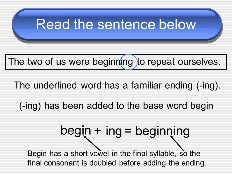 Read the sentence below