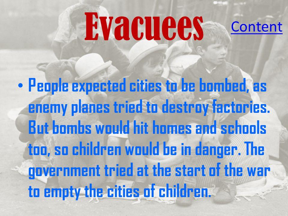 Evacuees Content.