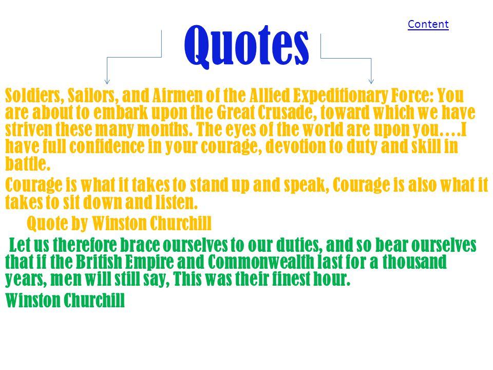 Quotes Content.