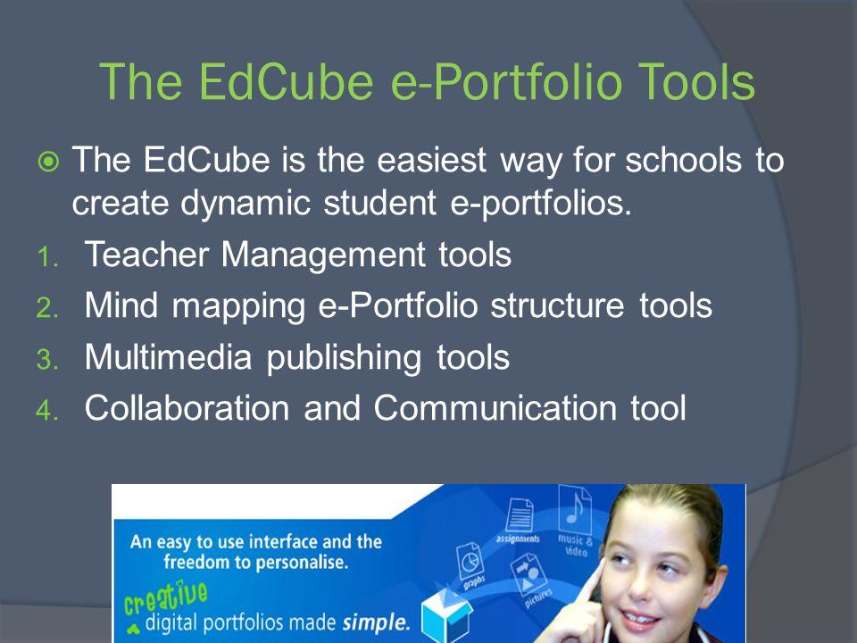 The EdCube e-Portfolio Tools