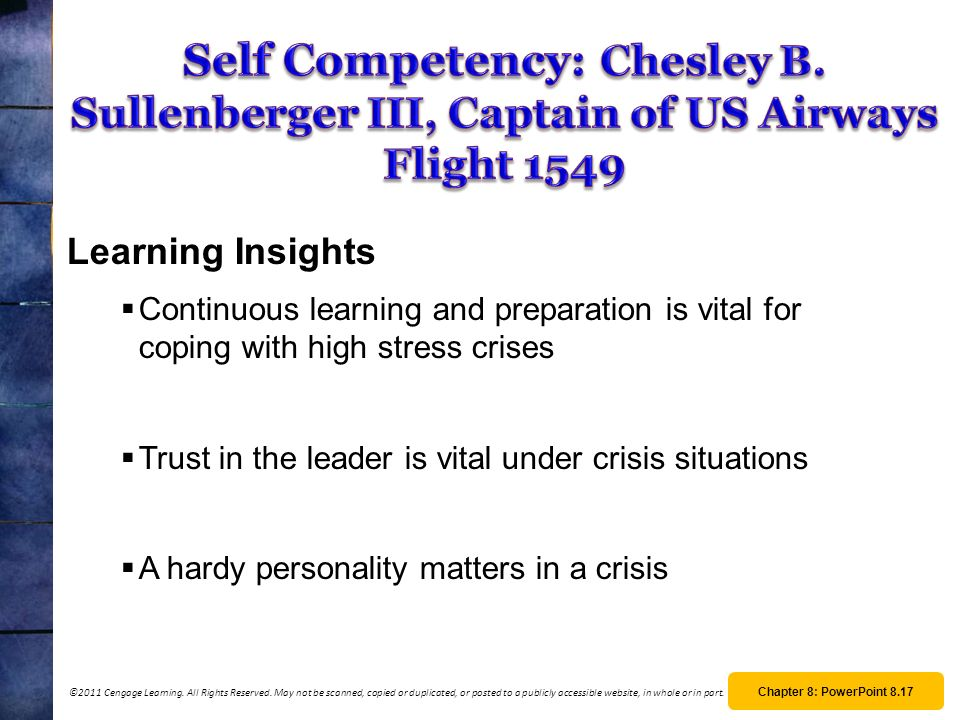 Self Competency: Chesley B