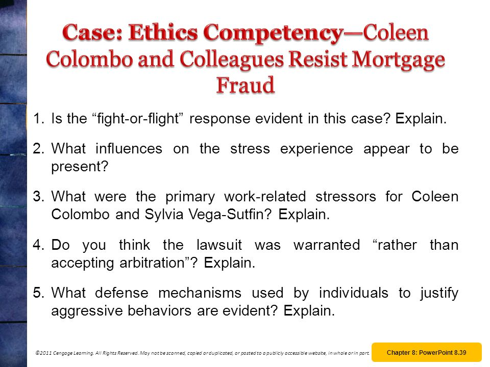 case coleen colombo and colleagues resist Colleen colombo and colleagues resist mortgage fraud synopsis in 2005, colleen colombo and five other all coleen colombo case essays and term papers.