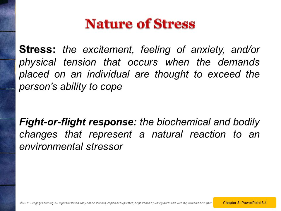 Nature of Stress