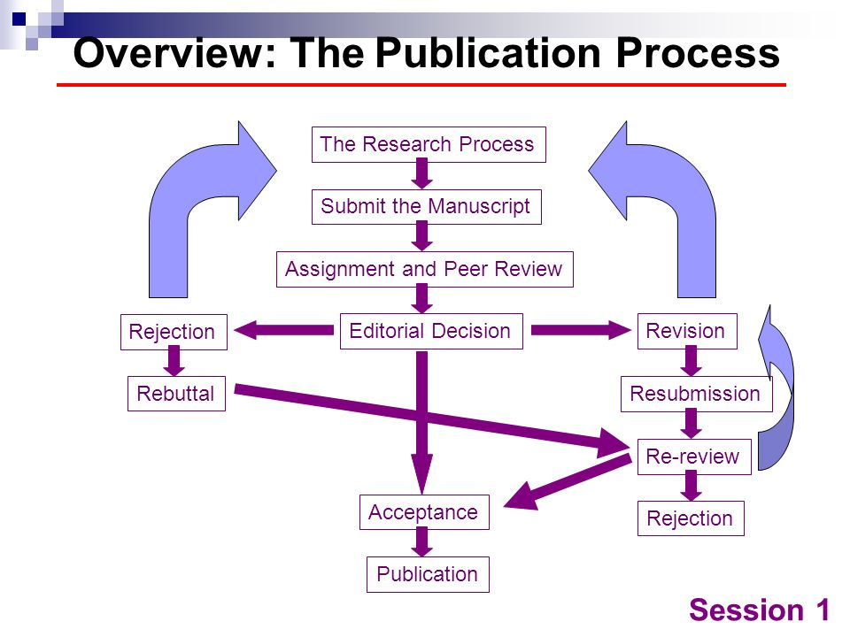 Overview: The Publication Process