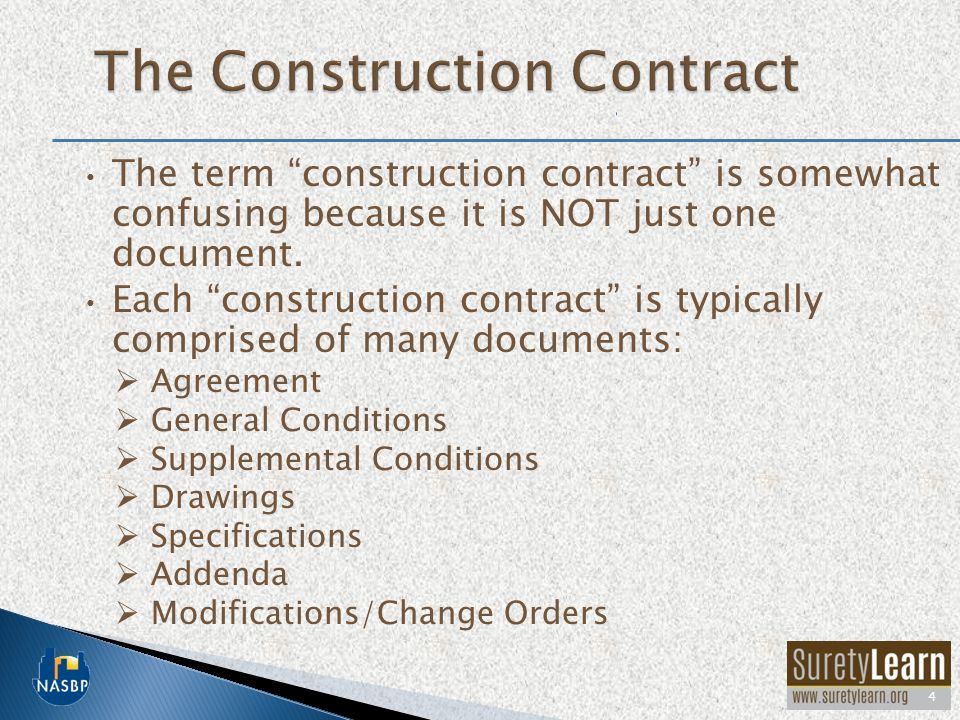 The Construction Contract