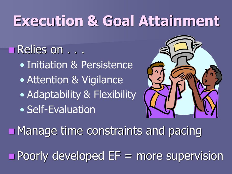Execution & Goal Attainment