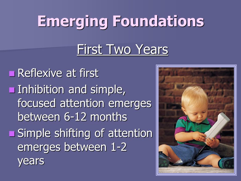Emerging Foundations First Two Years