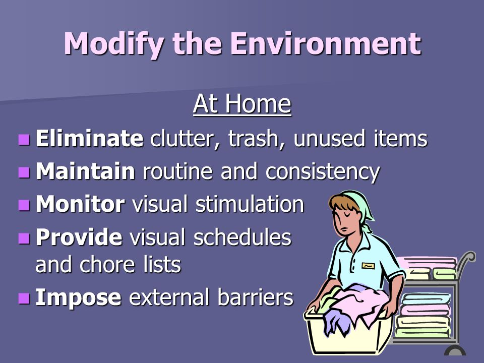 Modify the Environment