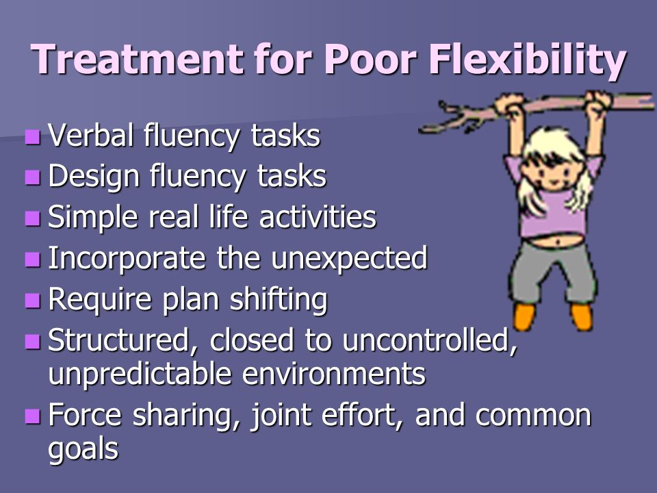Treatment for Poor Flexibility