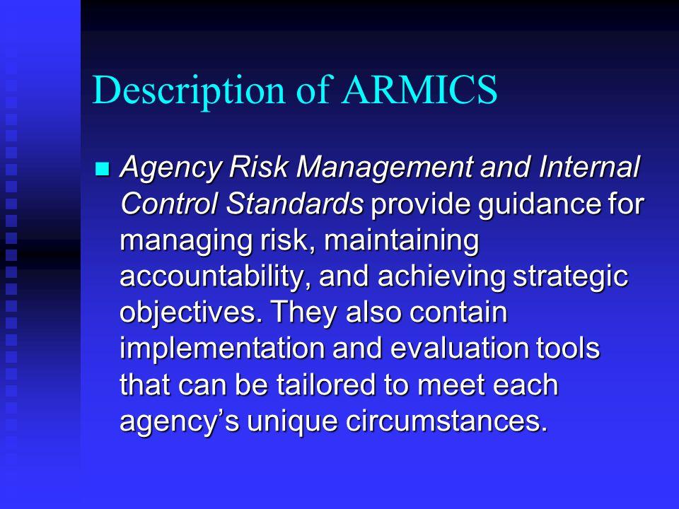 Description of ARMICS