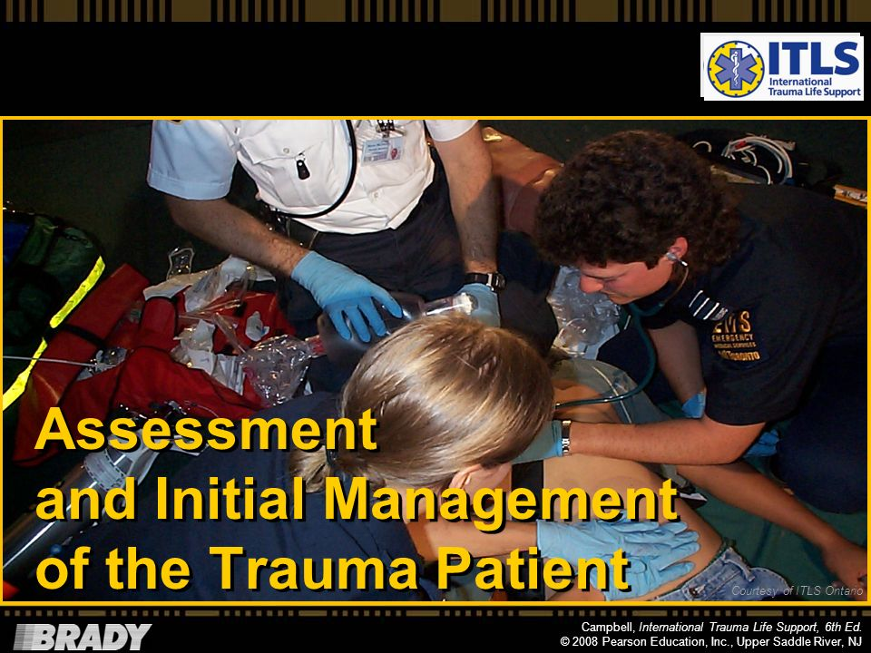 Assessment and Initial Management of the Trauma Patient