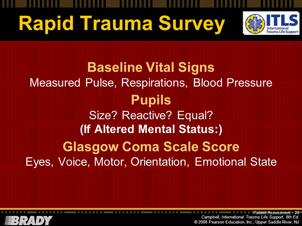 International Trauma Life Support, 6e
