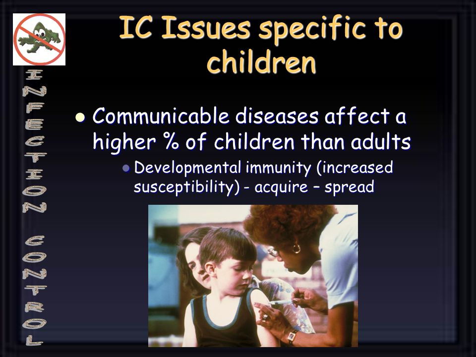 IC Issues specific to children