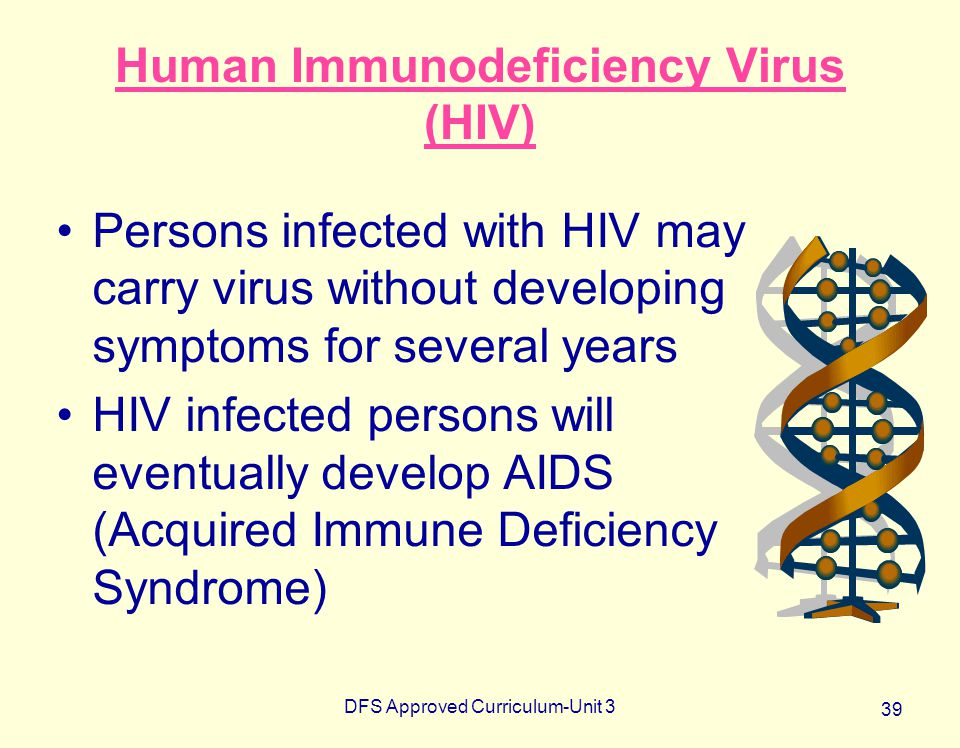 Human Immunodeficiency Virus (HIV)