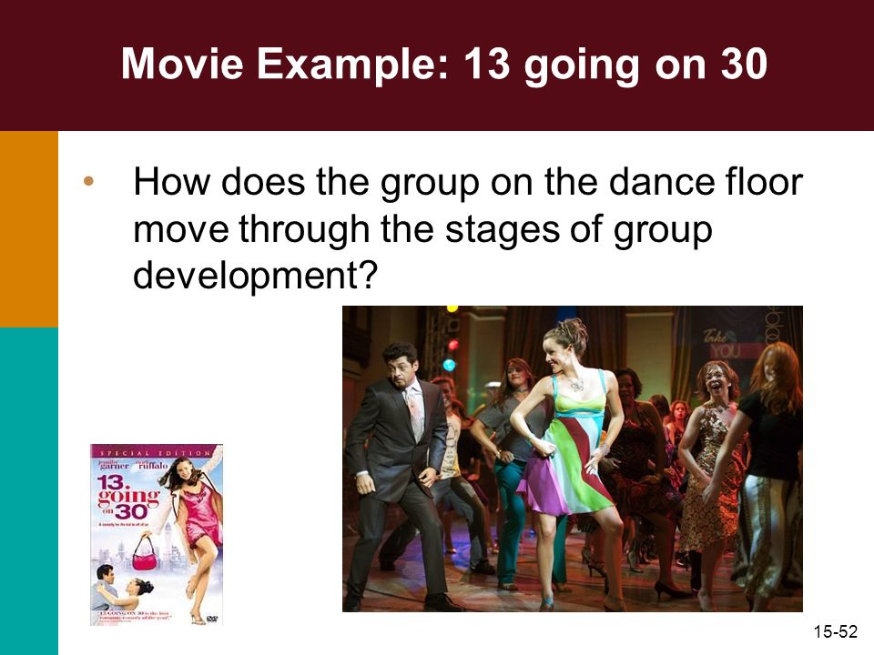 Movie Example: 13 going on 30