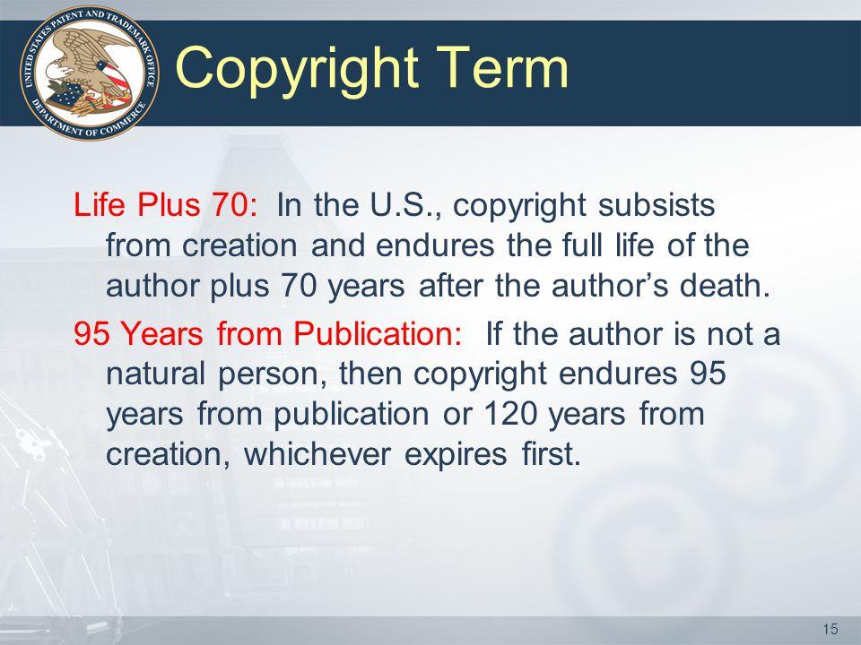 Copyright Term