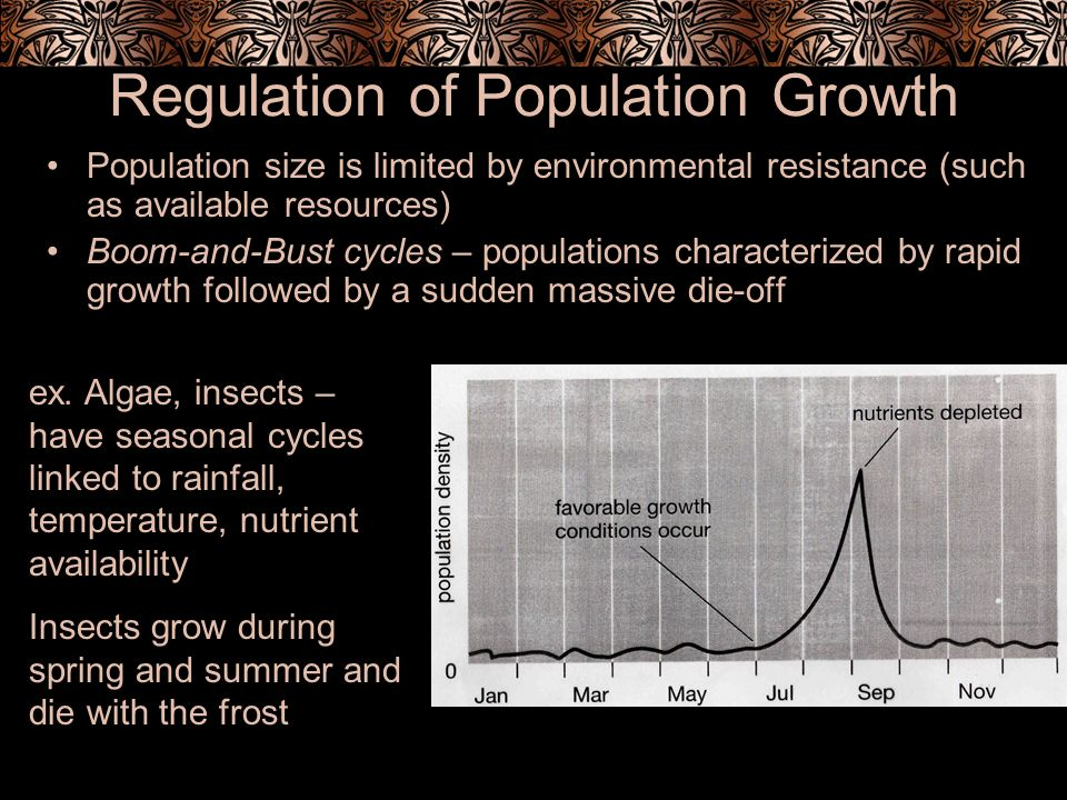 Regulation of Population Growth