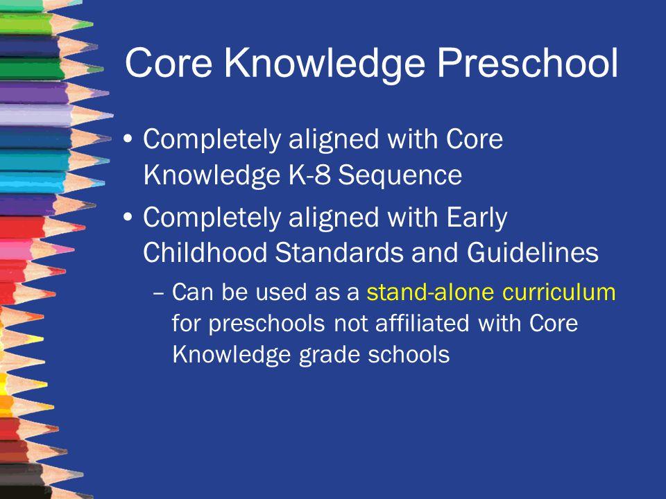 Core Knowledge Preschool