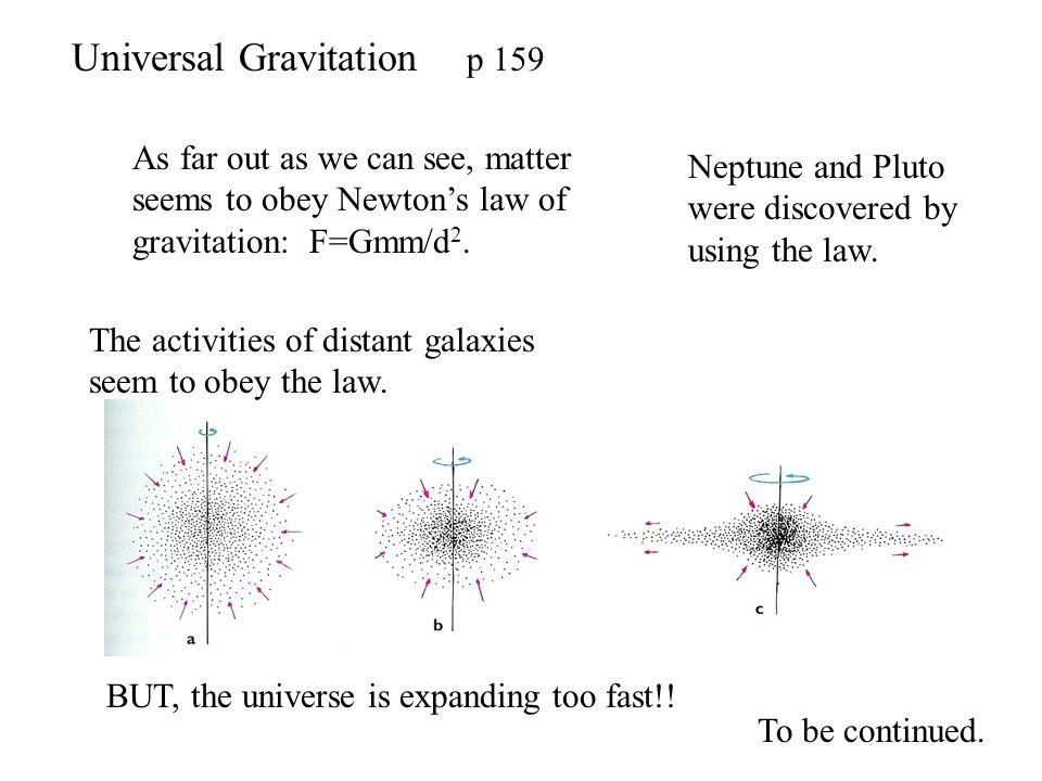 Universal Gravitation p 159
