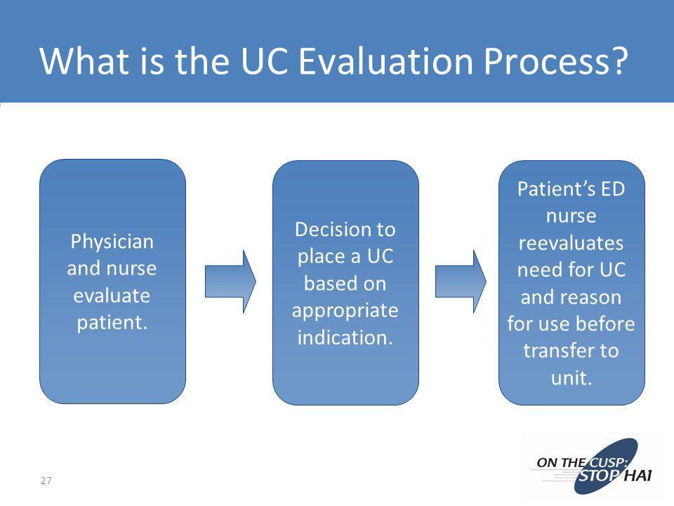 What is the UC Evaluation Process