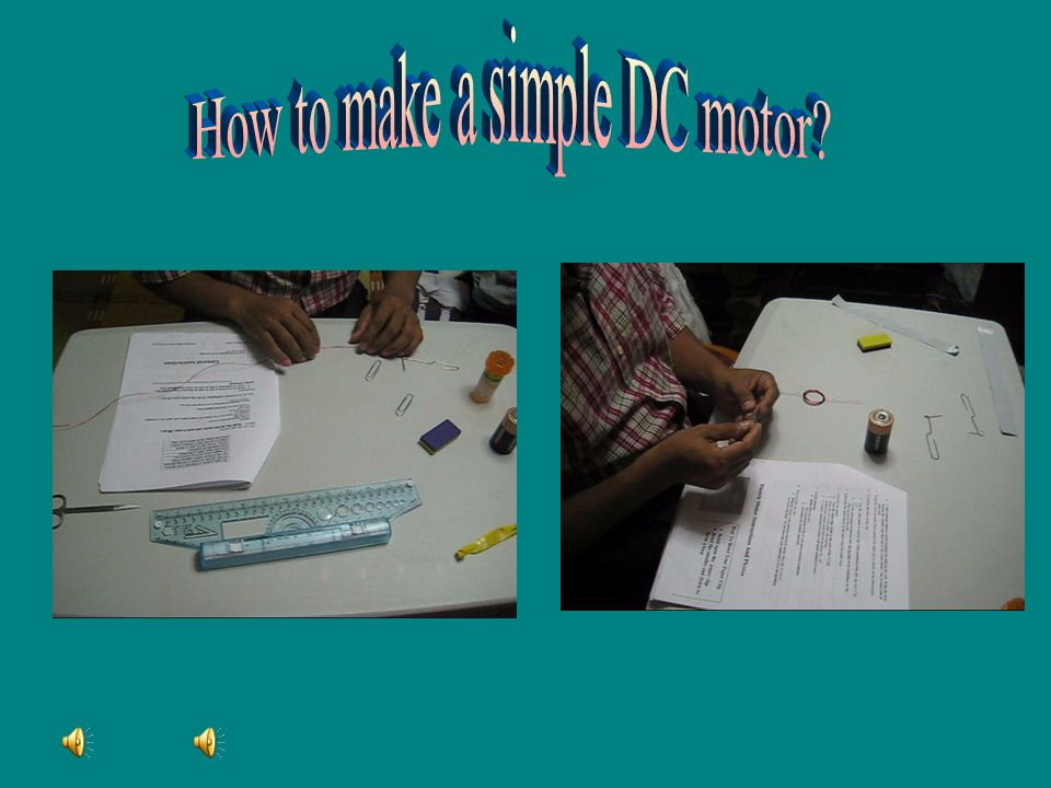 How to make a simple DC motor
