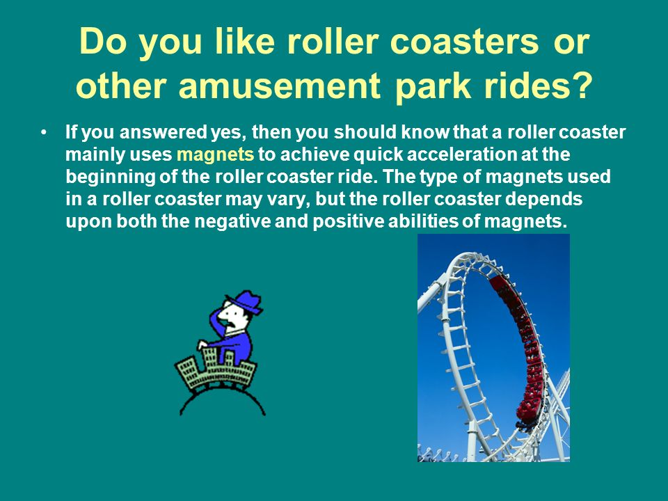 Do you like roller coasters or other amusement park rides