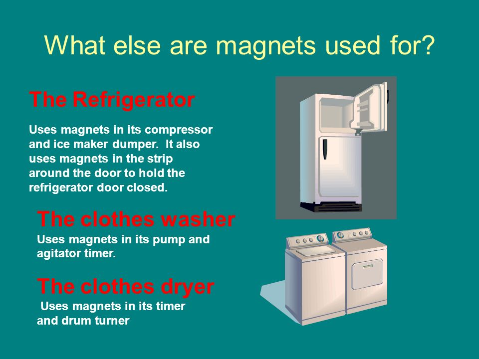 What else are magnets used for