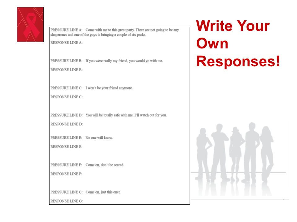 Write Your Own Responses!