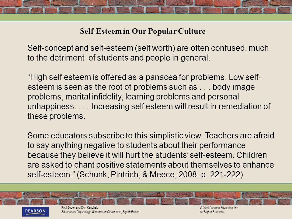 Self-Esteem in Our Popular Culture